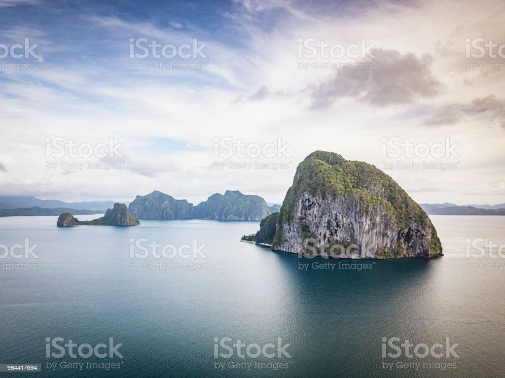 El Nido Palawan Pinagbuyutan Island Philippines Stock Photo