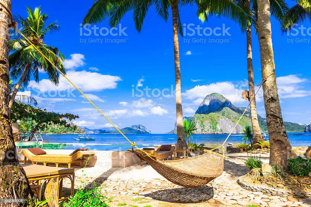 El Nido, Philippines Island. stock photo