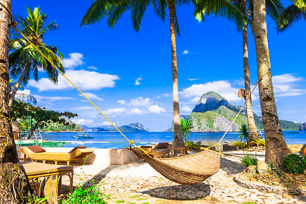el nido, philippines island. - philippines stock photos and pictures