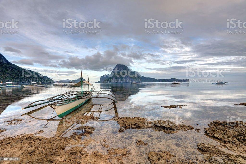 El Nido seascape royalty-free stock photo