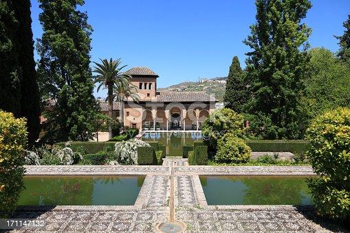 istock El Partal in the Alhambra Gardens, Granada 171147132