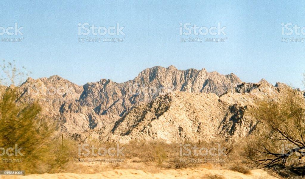El Pinacate and Gran Desierto de Altar, Mexico stock photo