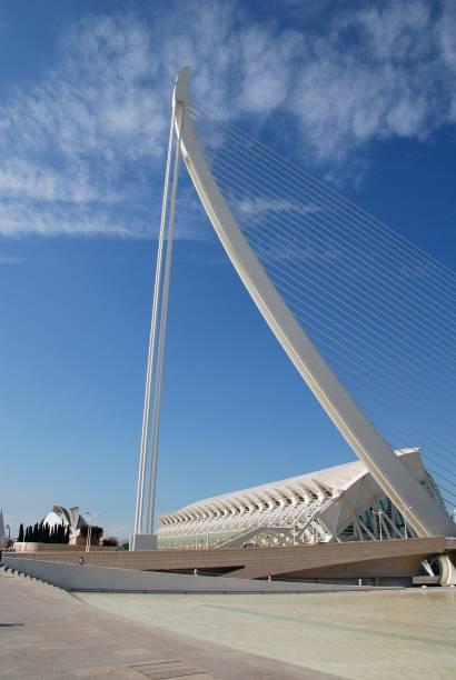 El Pont de L'Assut de L'Or, Valencia stock photo