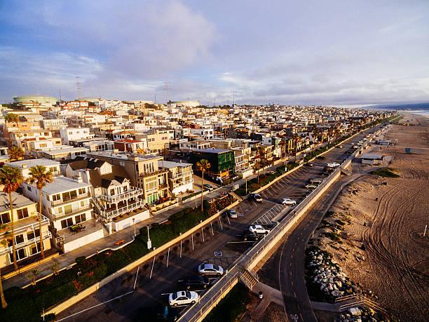 El Porto Aerial stock photo