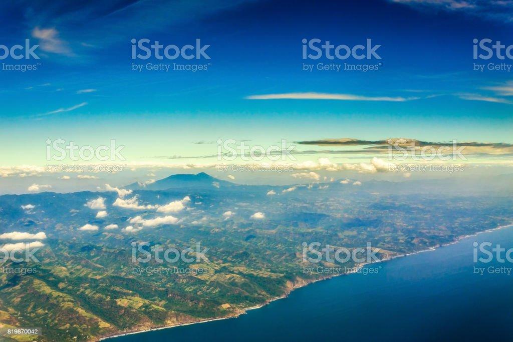 El Salvador Coastline stock photo