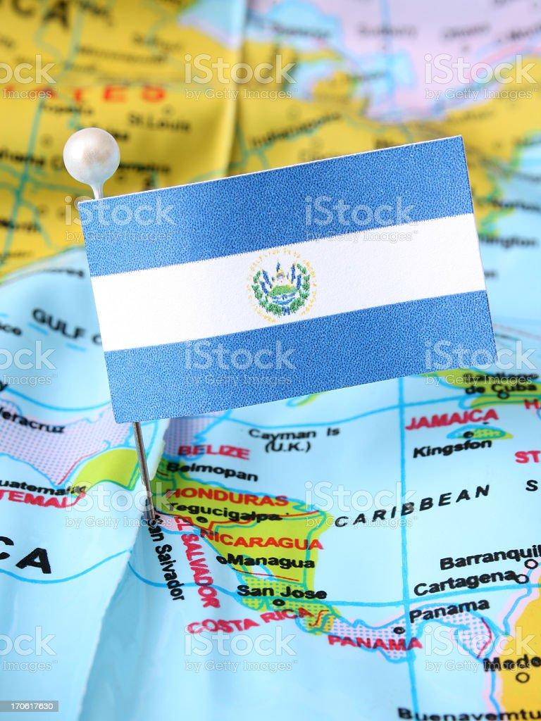 El Salvador royalty-free stock photo