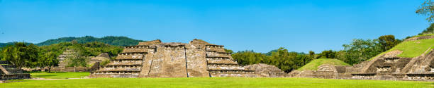 El Tajin, a pre-Columbian archeological site in southern Mexico El Tajin archeological site, UNESCO world heritage in Mexico el tajin stock pictures, royalty-free photos & images