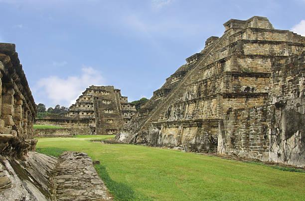 El Tajin Mexico Veracruz Pyramids of El Tajin archeological zone, Veracruz, Mexico el tajin stock pictures, royalty-free photos & images
