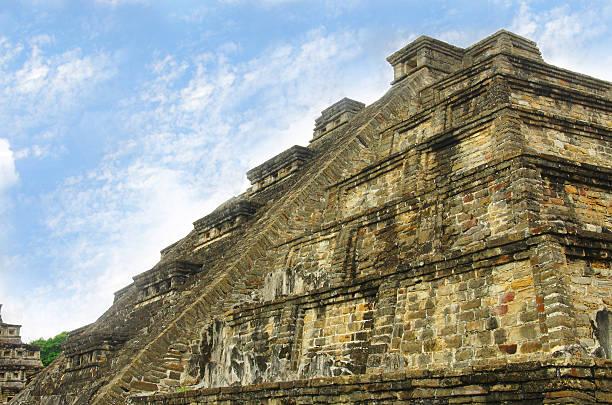 El Tajin Pyramid The pyramid in El Tajin, Veracruz, Mexico el tajin stock pictures, royalty-free photos & images