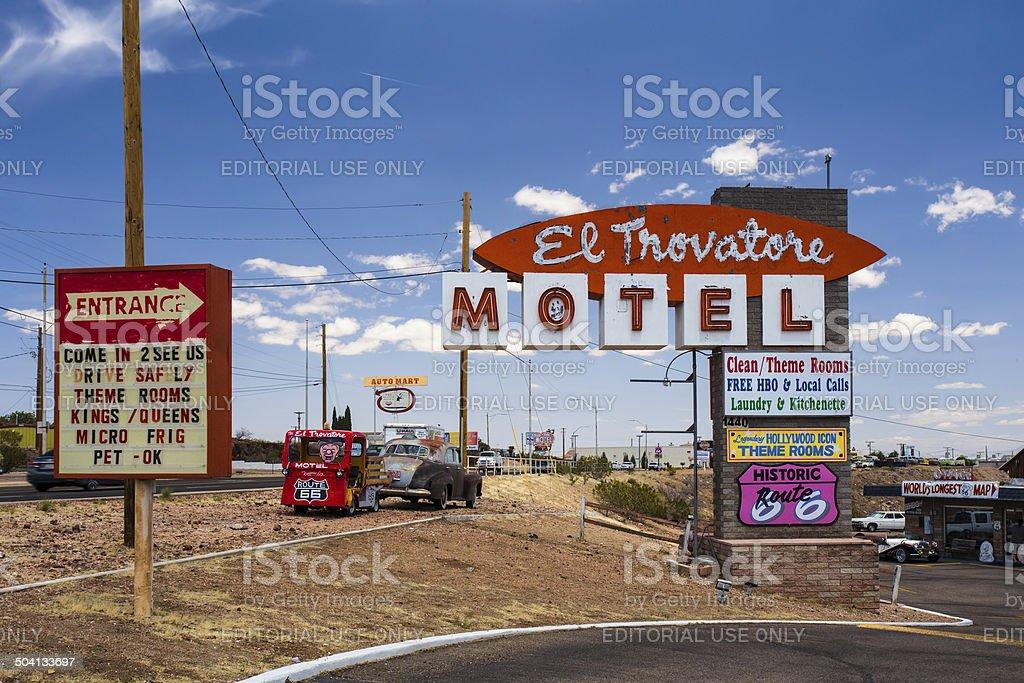 El Trovatore Route 66 stock photo