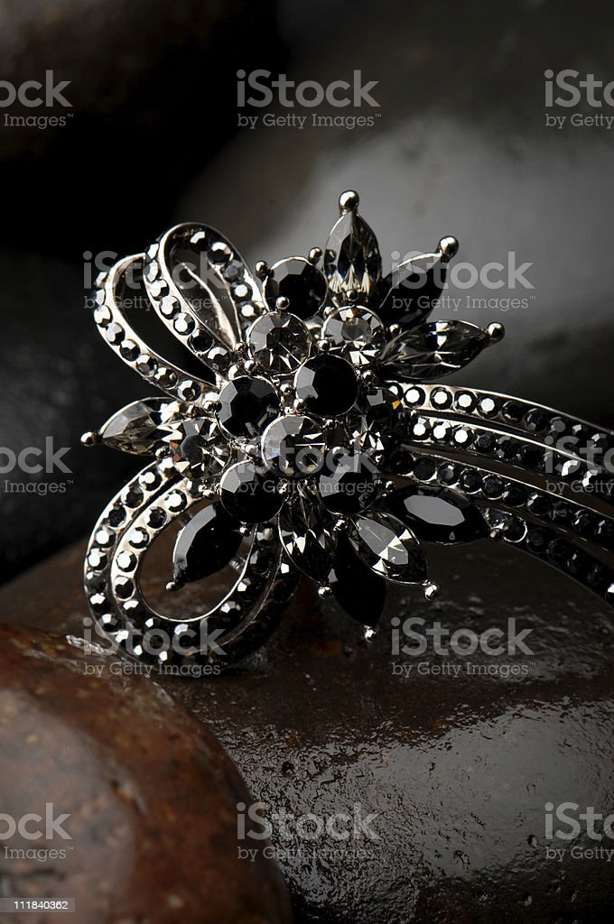 Elaborate Ring royalty-free stock photo