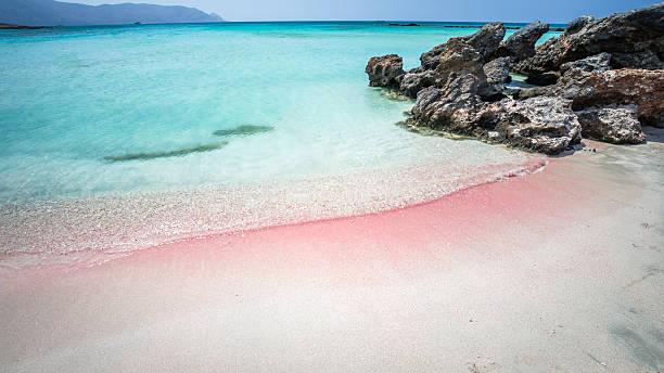 Elafonisi Lagoon, Crete Island, Greece – Foto
