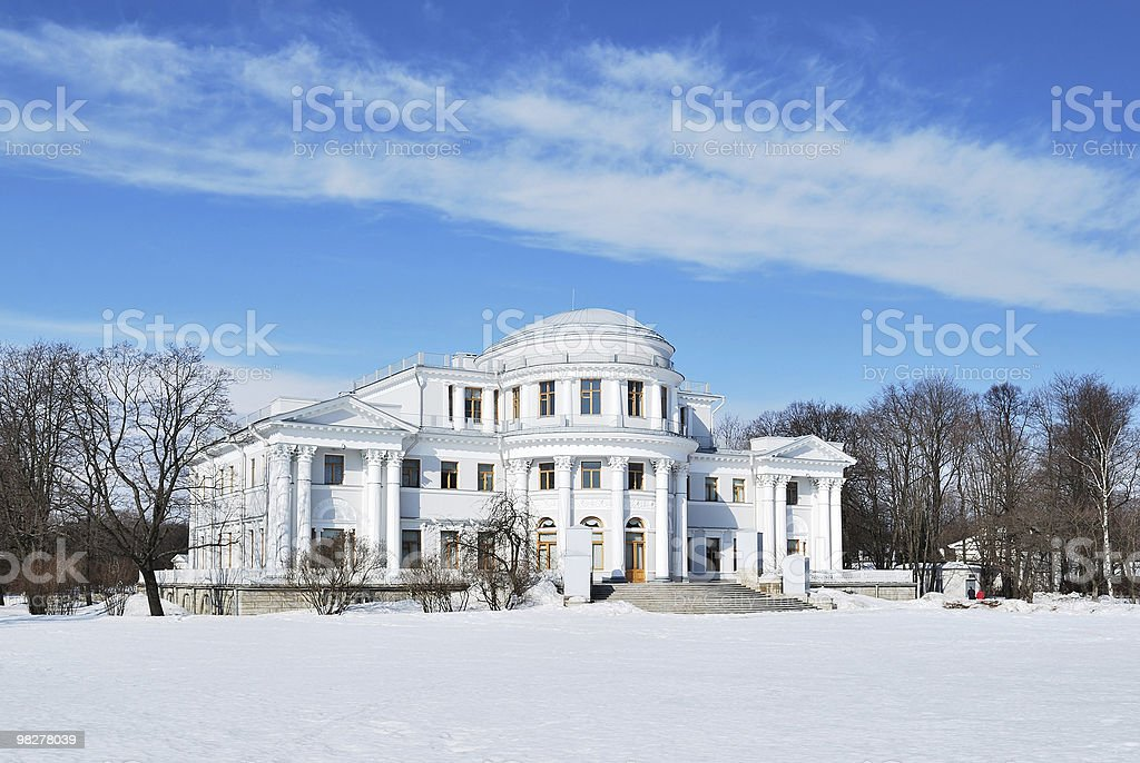 Elagin 궁전 royalty-free 스톡 사진