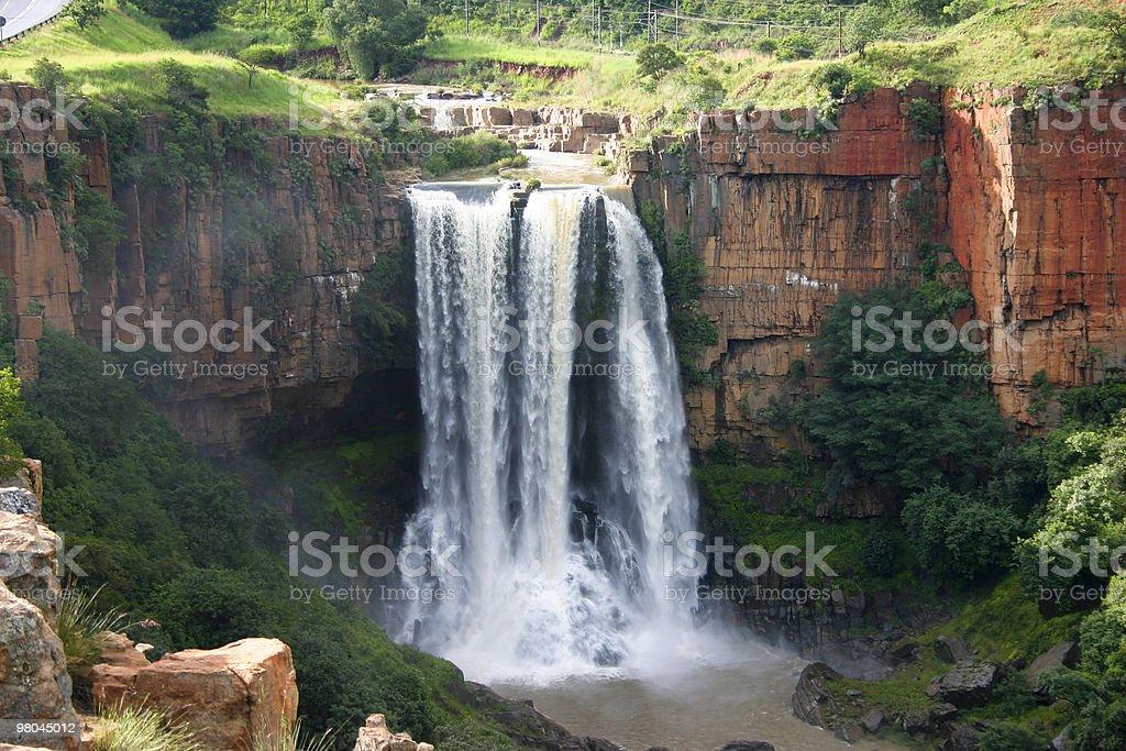 Elands River Waterfall royalty-free stock photo