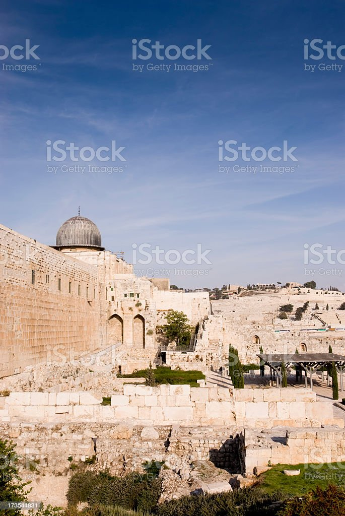 El-Aqsa Mosque stock photo