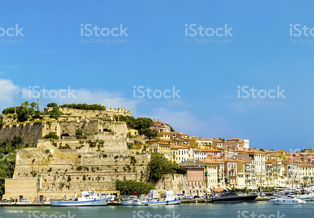 Elba island (Tuscany, Italy) royalty-free stock photo