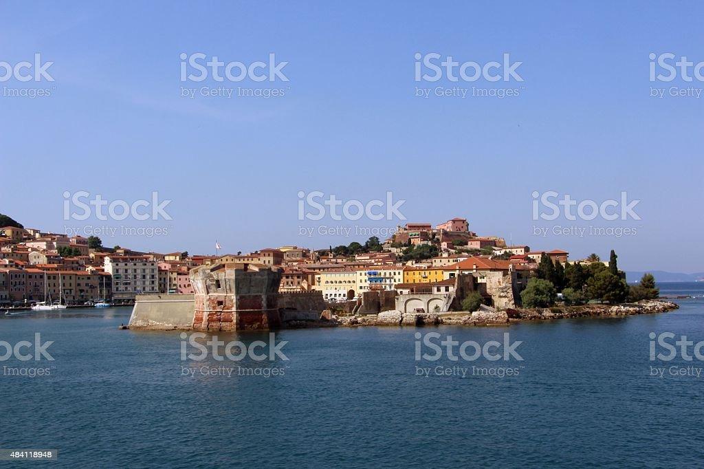 Elba island - Portoferraio stock photo
