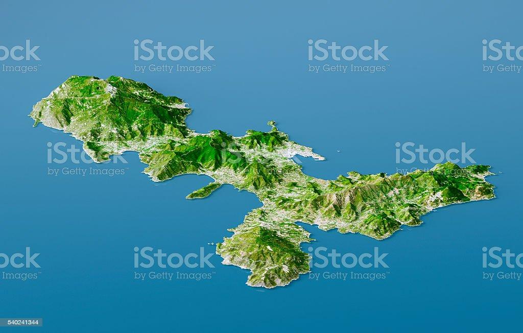 Elba Karte.Elba Topographische Karte 3d Landschaft Mit Naturlichen Farben Stockfoto Und Mehr Bilder Von Blau