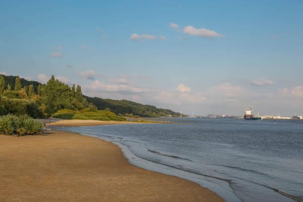 Elbe beach Falkensteiner Ufer – Foto