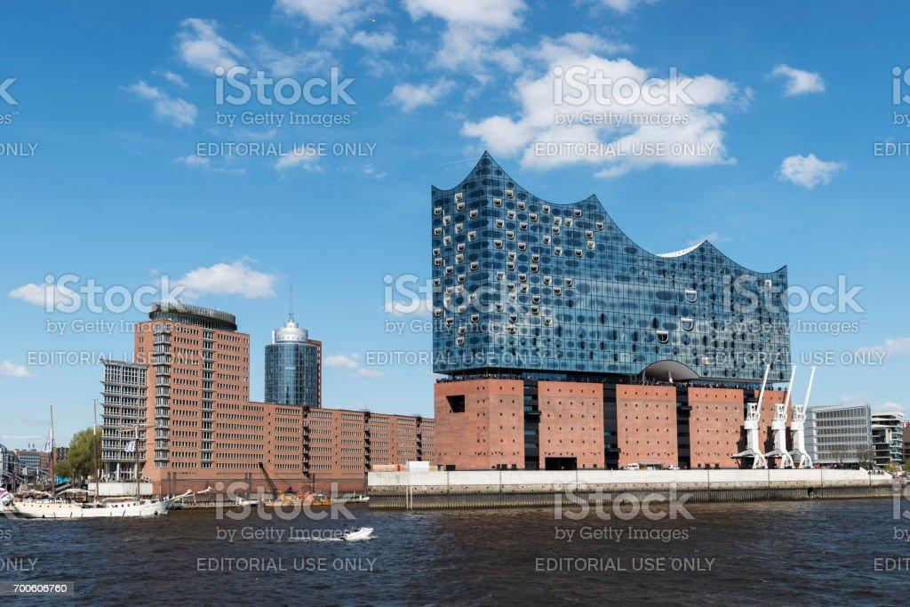 Elbphilharmonie Konzertsaal, Hamburger Hafen an der Elbe, Hamburg, Deutschland – Foto