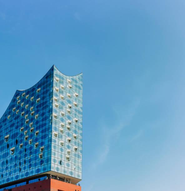 elbphilharmonie im stadtteil hafencity, hamburg, deutschland - hotel stadt hamburg stock-fotos und bilder