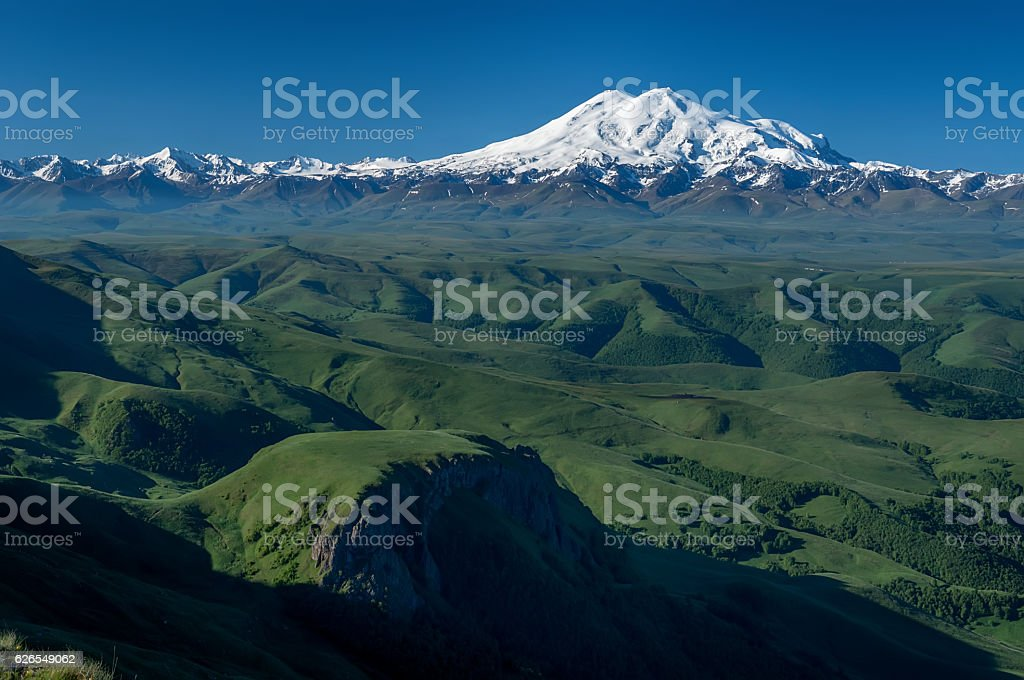 Elbrus. stock photo