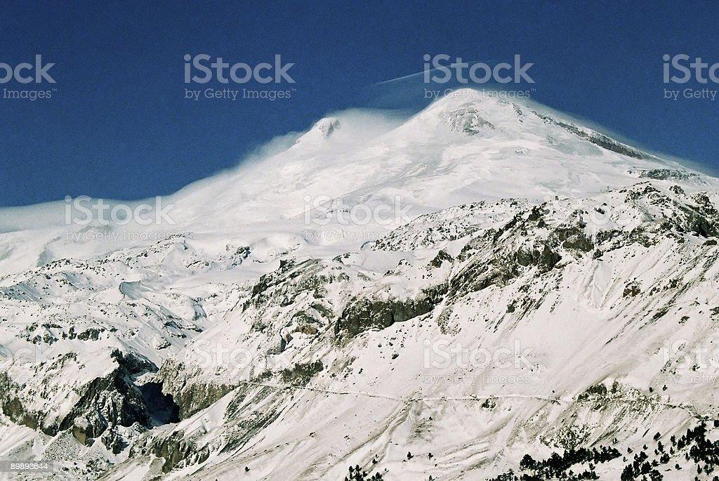 Elbrus. royalty-free stock photo