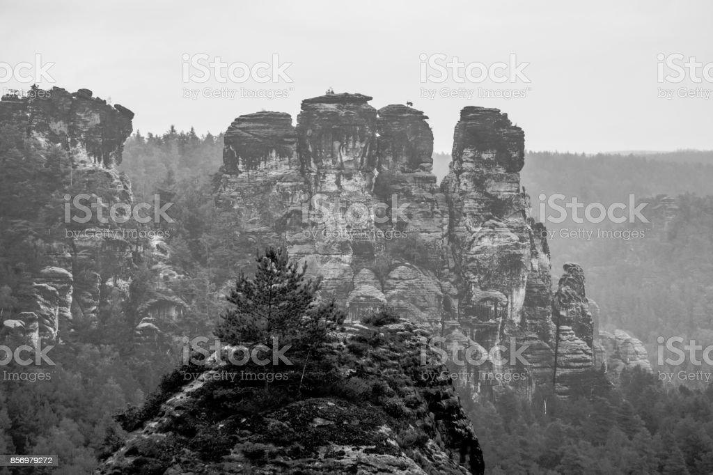 Sandstein-Gebirge – Foto