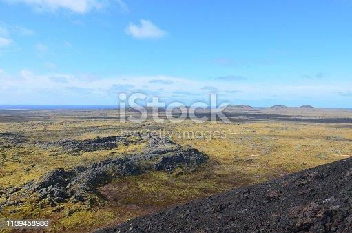 istock Eldborg Crater in Iceland 1139458986