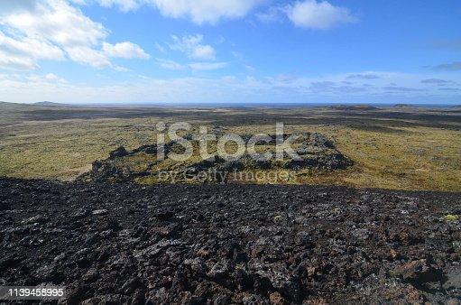 istock Eldborg Crater in Iceland 1139458995