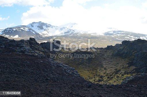 istock Eldborg Crater in Iceland 1139459058