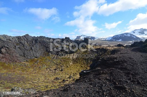 istock Eldborg Crater in Iceland 1139459085