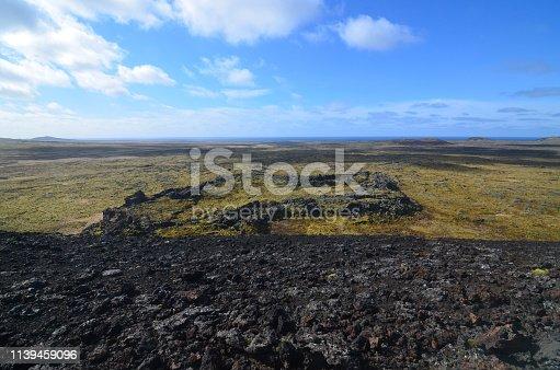 istock Eldborg Crater in Iceland 1139459096