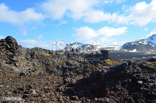 istock Eldborg Crater in Iceland 1139459126