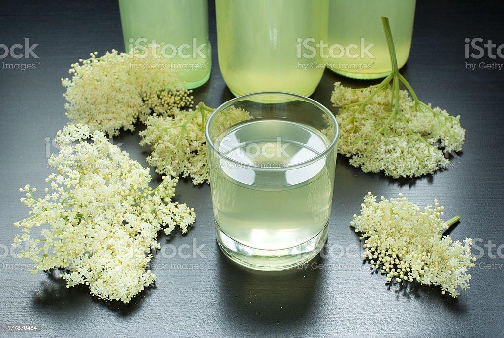 Elderflower juice royalty-free stock photo