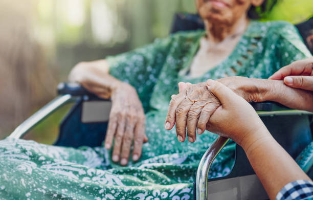 Elderly asian woman on wheelchair at home with daughter take care picture id1187049954?b=1&k=6&m=1187049954&s=612x612&w=0&h=13sesme2ttxgu1fccoyj tz9uthfjahtv8gszxpmu8i=