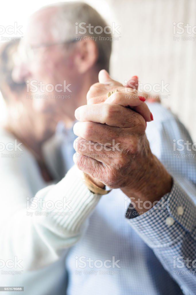 Ältere paar Tanzen – Foto