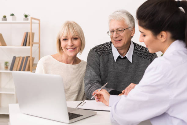 Elderly couple discussing treatment plan with doctor picture id1127572908?b=1&k=6&m=1127572908&s=612x612&w=0&h=tb385f0iuvdzsj8 hyyp6w2d 7t1fammu4lnz3l vkw=