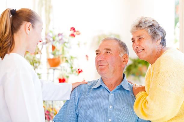 Seniorenpaar – Foto