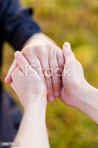 istock Elderly Hands 658219870