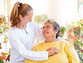 istock Elderly home care 659031852