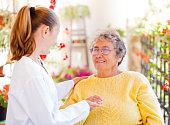 istock Elderly home care 659036726