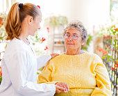 istock Elderly home care 659044388