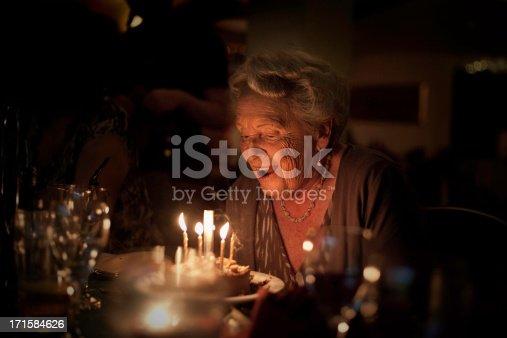 istock Elderly Lady:  Birthday Celebration 171584626