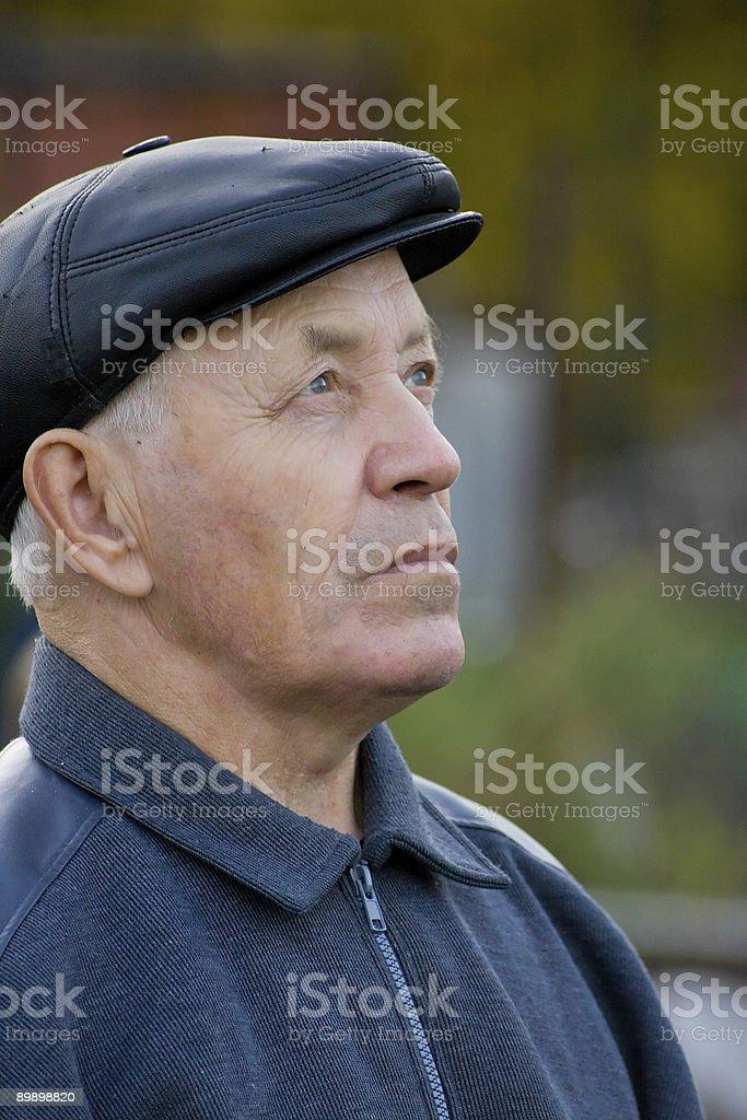 Пожилой мужчина Стоковые фото Стоковая фотография