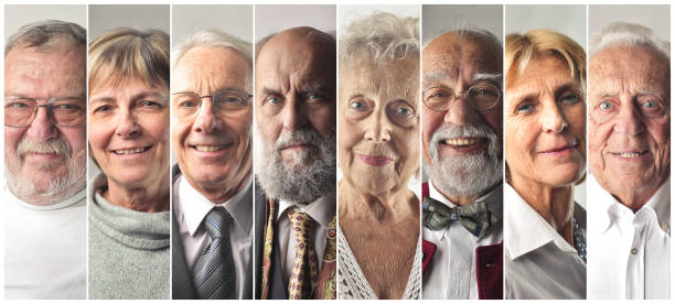 Elderly Menschen – Foto