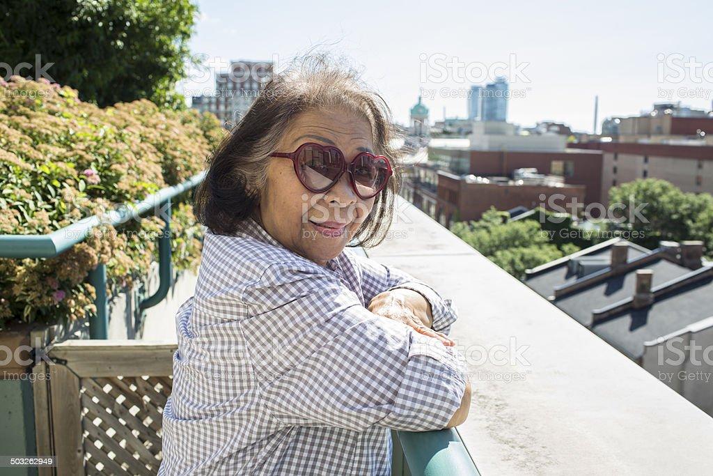 Elderly Senior Woman royalty-free stock photo