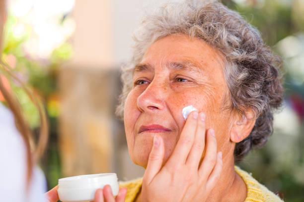 Ältere Hautpflege – Foto