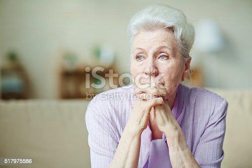 istock Elderly woman 517975586