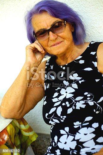 istock Elderly woman 836192110